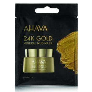 24K Gold Mineral Mud Mask - single use 15x8ml